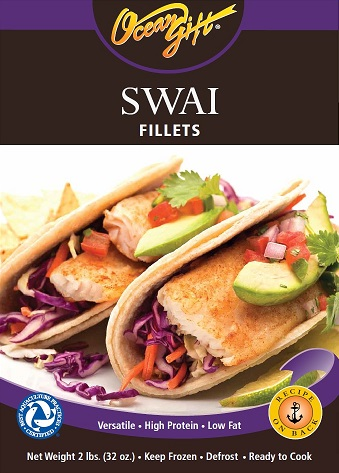 Ocean Gift Swai Fillets Packaging
